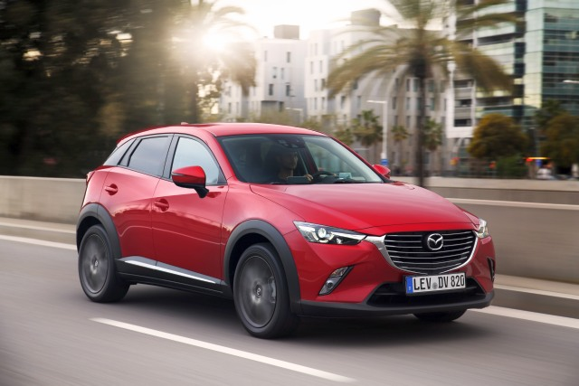 all new mazda cx-3 action 18