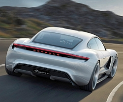 high mission e concept car 2015 porsche 250